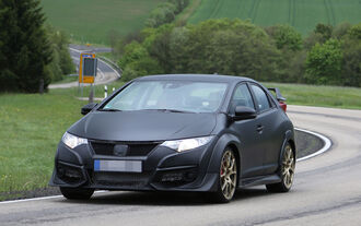 05/2014 Erlkönig Honda Civic R-Type