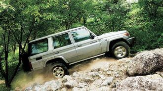 08/2014, Toyota Land Cruiser 70 Neuauflage Japan