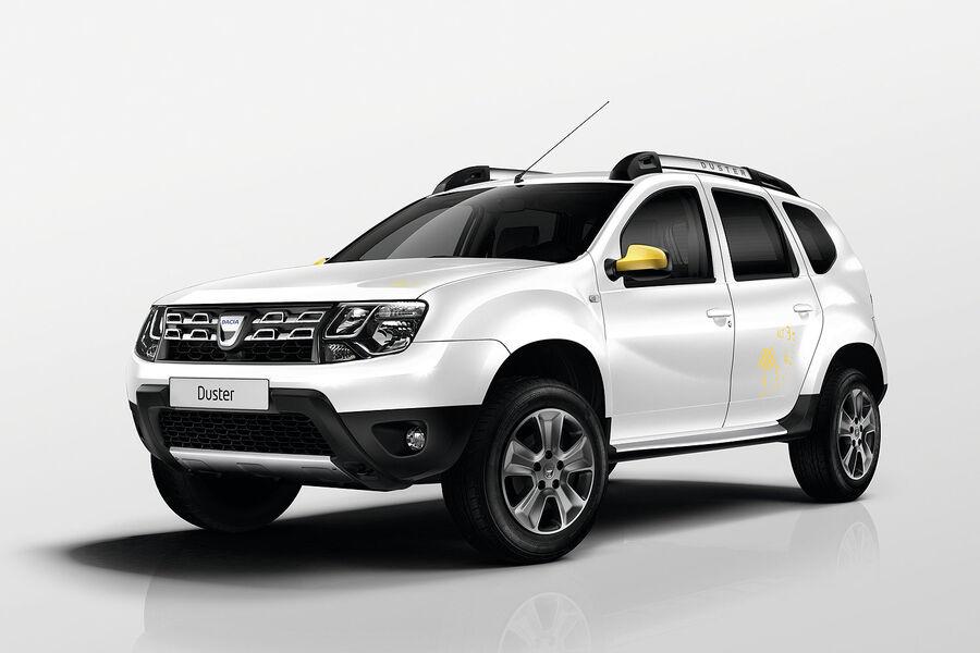 Dacia Sandero Und Duster Auf Dem Autosalon Paris  Zwei Limitierte Sondermodelle