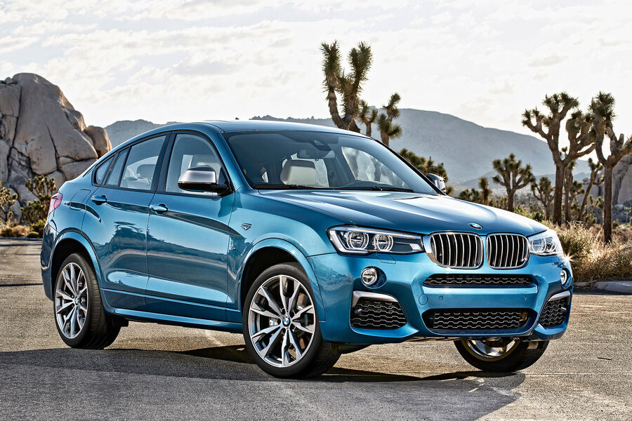 bmw x4 m40i top modell des suv coup s mit 360 ps auto motor und sport. Black Bedroom Furniture Sets. Home Design Ideas