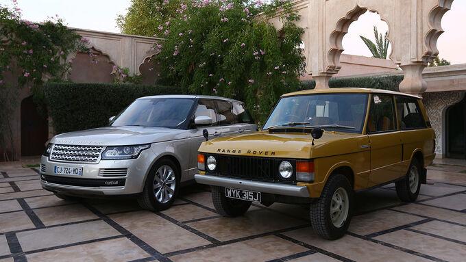 12/2012 ams27/2012, Fahrbericht Range Rover, alt, neu, Generationen