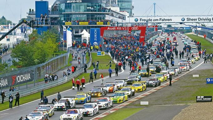 24h-Rennen Nürburgring, Startaufstellung