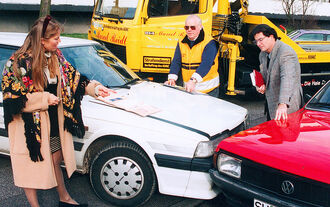 ADAC Panne Unfall Crash
