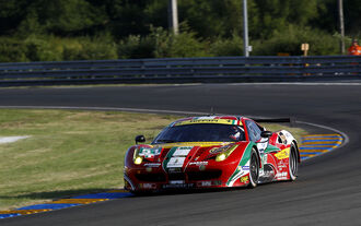 Ferrari im GT-Rennsport