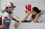 Adrian Sutil Monisha Kaltenborn - 2014