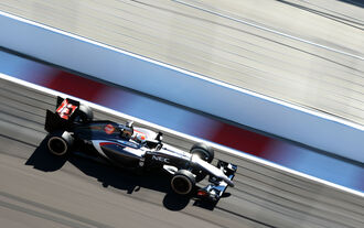 Adrian Sutil - Sauber - Formel 1 - GP Russland - 11. Oktober 2014