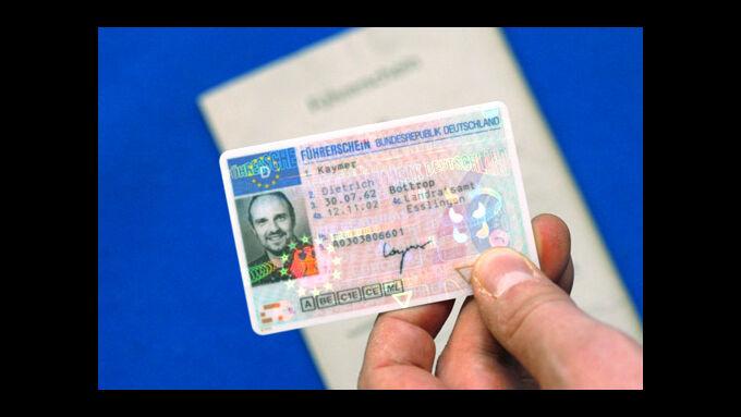 Alter und neuer Führerschein
