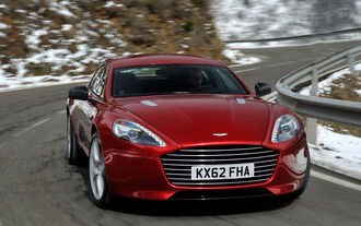 Aston Martin Rapide S, Frontansicht