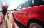 Audi A3 Sportback e-tron, Seitenführung