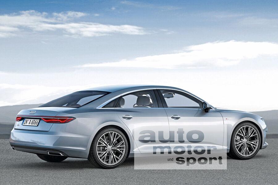 Neuheiten Audi gegen Mercedes: Sechs Duelle der Zukunft - Auto Motor ...