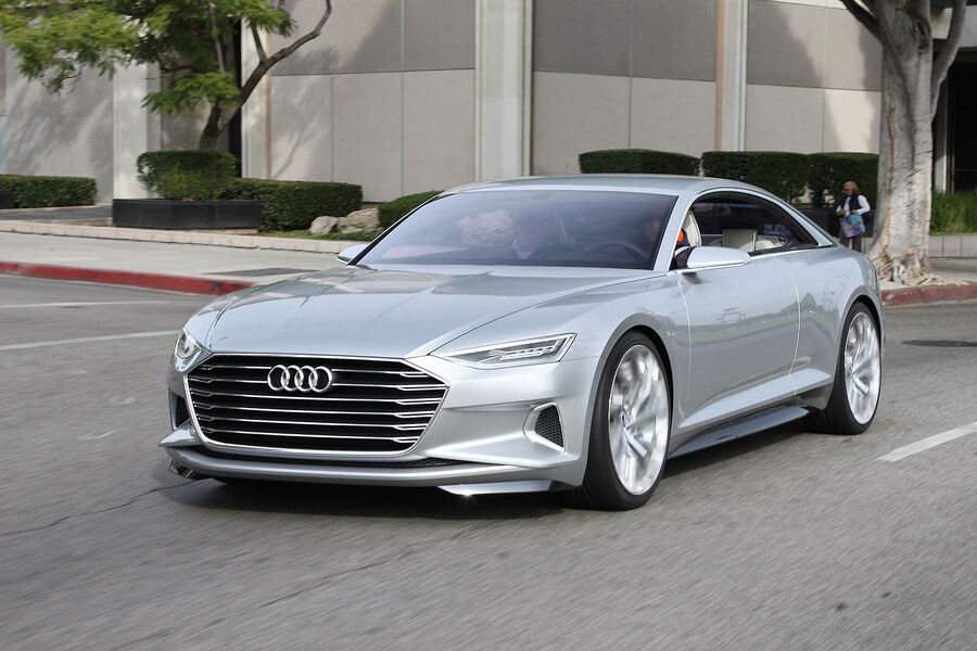 Fahrbericht Audi Prologue: Unterwegs mit der Audi-Zukunft ...