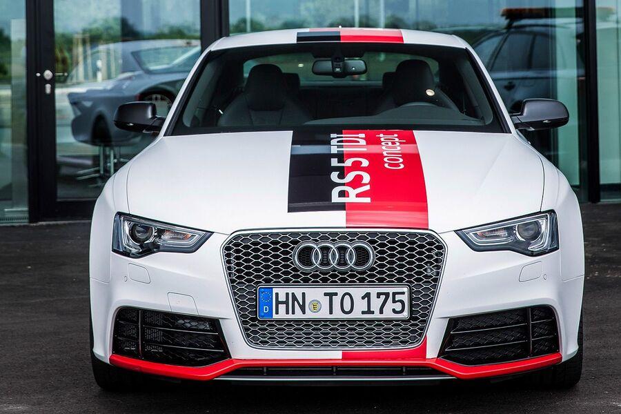 Дизельная Audi RS5 TDI Concept 2014 года