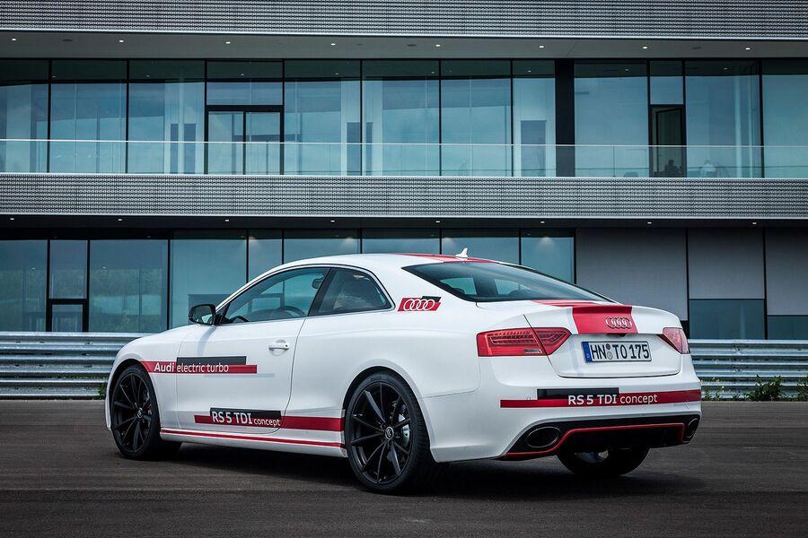 Прототип 2014 года Audi RS5 TDI