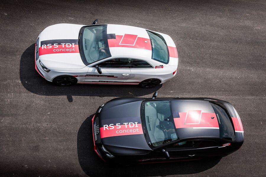 Два экземпляра Audi RS5 Concept 2014 года