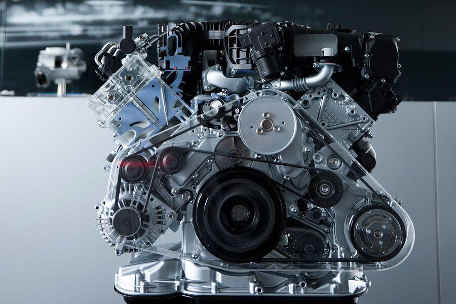 Двигатель с электрической турбиной 3.0 TDI V6