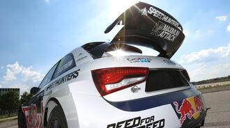 Audi S1 Rallycross, Heckspoiler