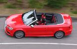 Audi S3 Cabrio, Seitenansicht