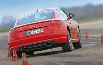 Audi TT 2.0 TFSI, Heckansicht