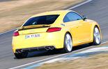 Audi TTS, Heckansicht