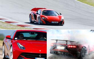 Aufmacher - McLaren - Ferrari - Lamborghini