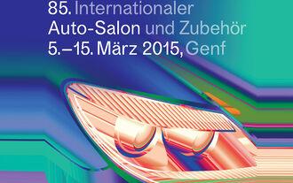 Autosalon Genf 2015 Plakat