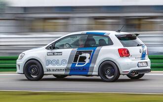 BB-VW Polo R WRC, Seitenansicht