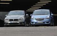 BMW 218i Active Tourer, Opel Meriva 1.4 Innovation
