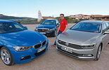 BMW 3 Series Touring, Mercedes C-Class T-Model, VW Passat Variant