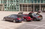 BMW 520d Gran Turismo, Jaguar XF Sportbrake 2.2 D, Mercedes CLS 250 CDI Shooting Brake