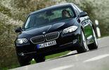 BMW 550i, Frontansicht, Stra§e
