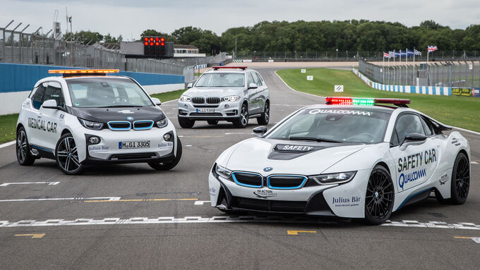 BMW - Formel E - Safety-Car Medical Car 2015