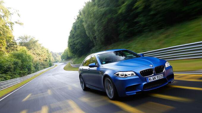 BMW M5 Competition, Front view