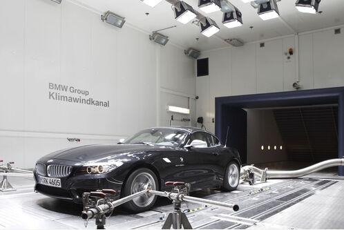 BMW-Prüfzentrum Klimawindkanal