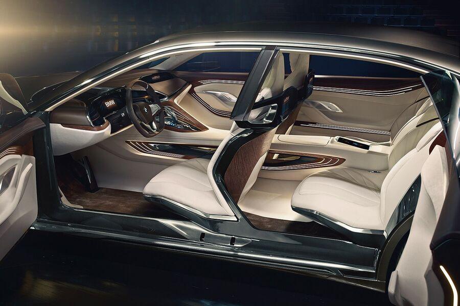 Bmw vision future luxury auf der auto china 2014 ausblick auf bmw 9er und 7er cockpit auto