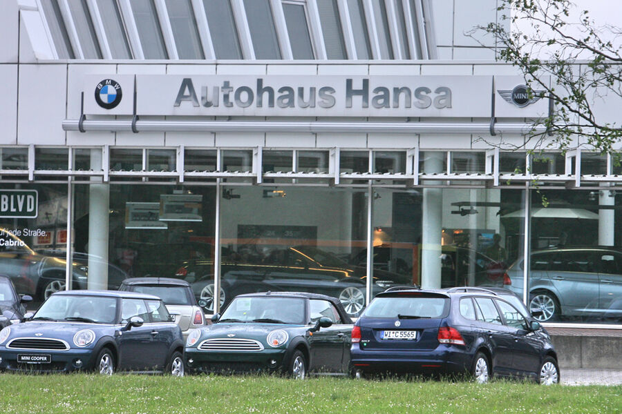 werkst tten test 2009 bmw autohaus hansa seite 6 auto. Black Bedroom Furniture Sets. Home Design Ideas