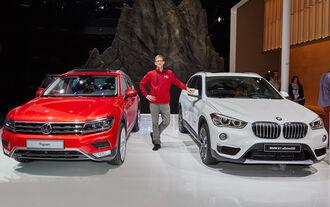 BMW X1 2015, VW Tiguan 2016