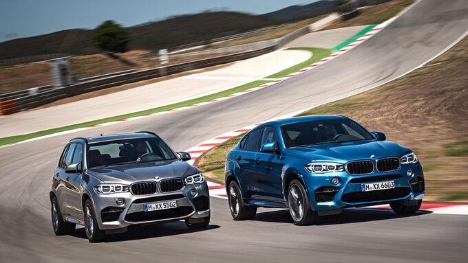 BMW X5 M - BMW X6 M - SUV - Vorstellung - M GmbH - 10/2014