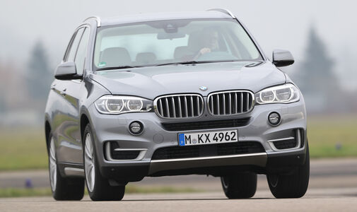 BMW X5 xDrive 30d, Frontansicht