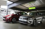 BMW Zweier Active Tourer, VW Golf Sportsvan 2.0 TDI,