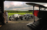 Bentley 4,5 Litre Blower, Mercedes 27/180/250 Typ 710 SS, Doppeldecker