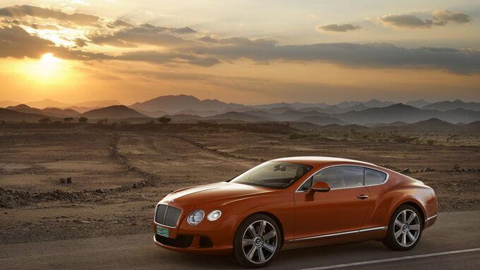 Bentley Continental GT, Seite rechts