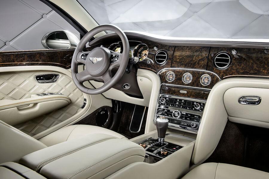 Фото салона Bentley Mulsanne Hybrid Concept
