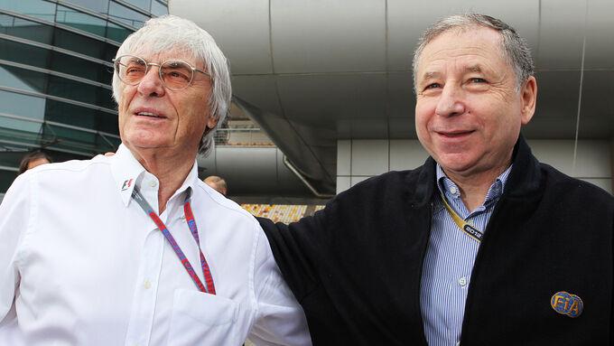 Bernie Ecclestone  Jean Todt 2012