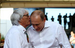 Bernie Ecclestone  Vladimir Putin - GP Russland 2014