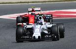 Bottas Räikkönen - GP Spanien 2015