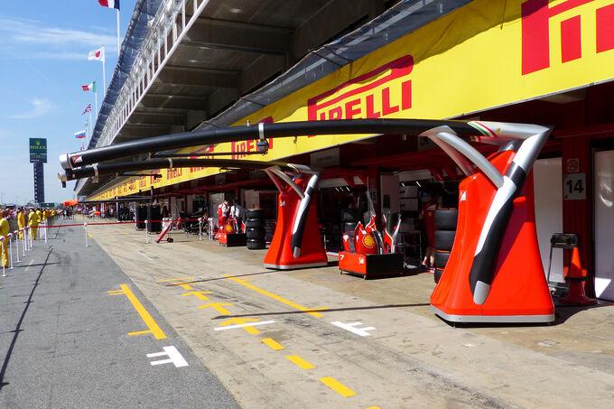 Boxengasse-Formel-1-GP-Spanien-Barcelona