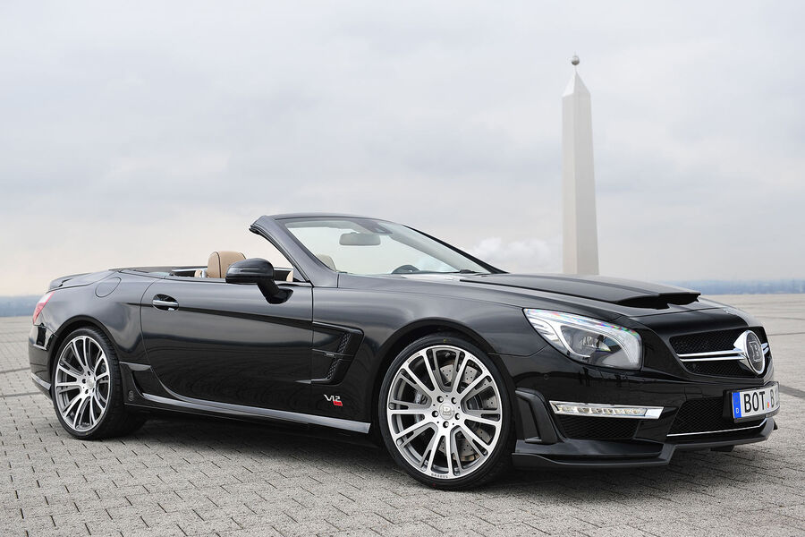 brabus 800 roadster in genf mercedes sl begrenzt auf 350. Black Bedroom Furniture Sets. Home Design Ideas