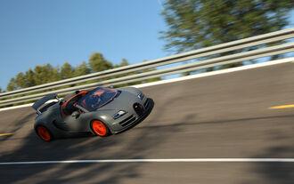 Bugatti Veyron Grand Sport Vitesse, Steilkurve