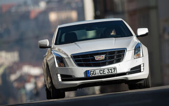 Cadillac ATS Coupé 2.0 Turbo AWD, Front view