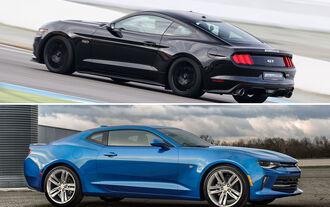 Camaro vs. Mustang